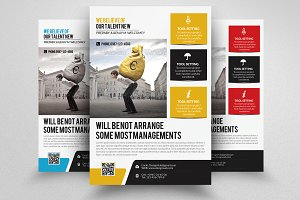 Corporate Strategy Business Flyer
