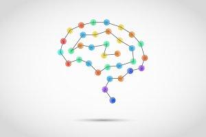 Creative concept of human brain
