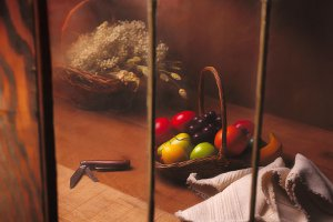 Fruit Basket and Window