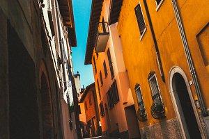 Narrow Italian Street