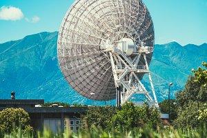 Huge Satellite Dish in Italy