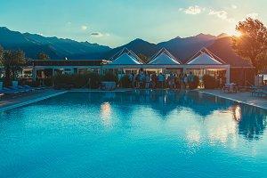 Hotel Pool, Lake Como