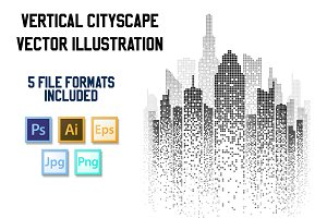 Vector Cityscape Background