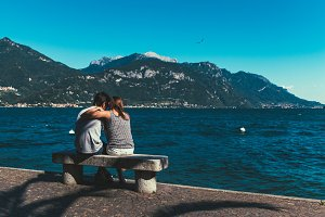 Lovers by the Lake