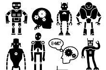 Robots, cyborgs, androids
