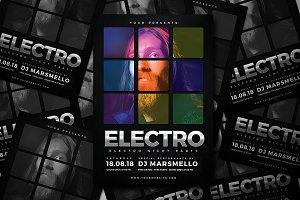 Electro Drumpad Flyer