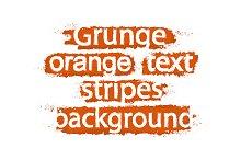 Grunge text stripes. Vector
