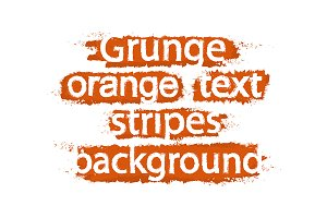 Grunge text stripes. Vector