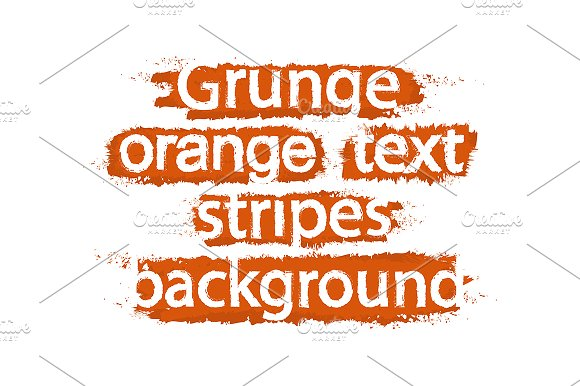 Grunge text stripes. Vector - Illustrations