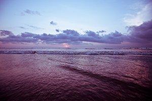 Bali Kuta Beach sunset