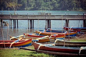 local fishing boat. Bali