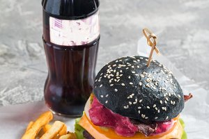 black burger series