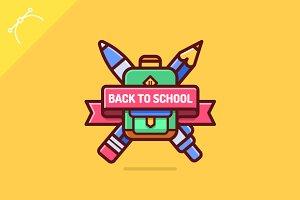 Back to school logo
