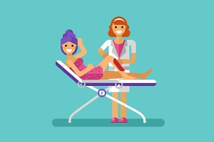 Waxing or Sugaring Hair Removal