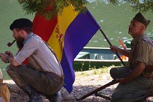 Historical recreation Civil war