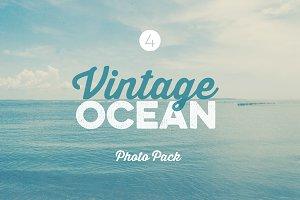 Vintage Ocean Photo Pack