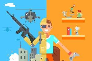 Gamer Soldier
