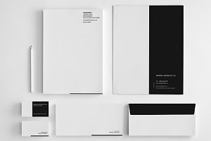 Minimal Simple Stationery