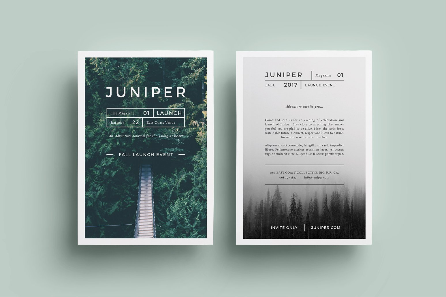 minimal electro flyer templates flyer templates on creative j u n i p e r flyer template