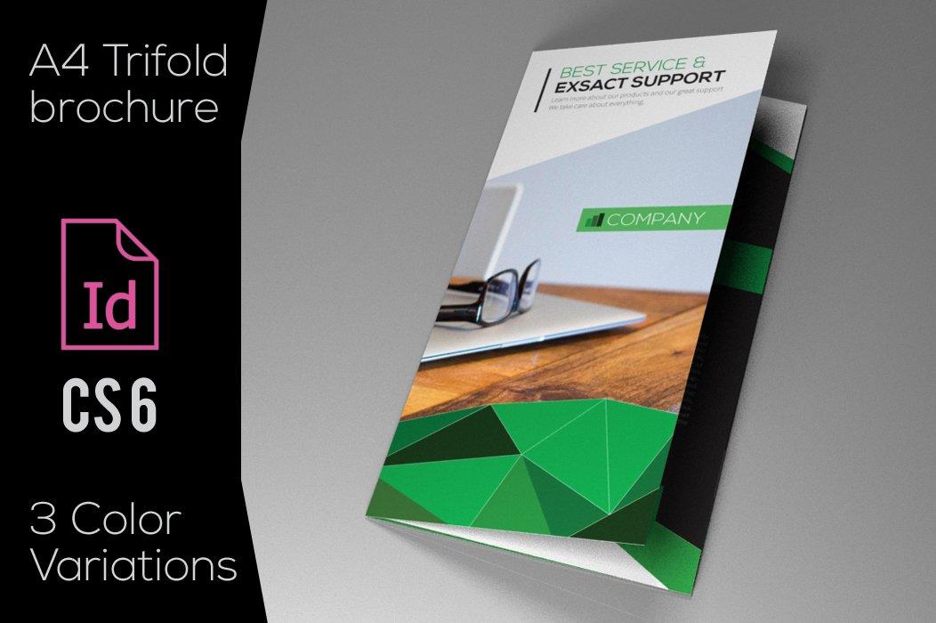 Indesign brochure - Cristal ~ Brochure Templates ~ Creative Market