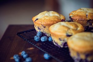 Xtreme blueberry muffins