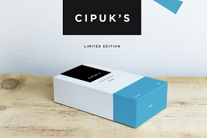Cipuks Premium Box mockup / template