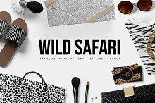 Wild Safari leopard Patterns