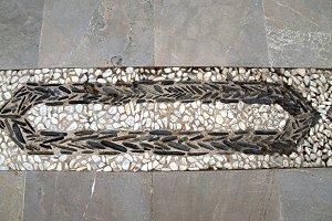stones paved