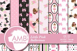 Ballerina Digital Papers, 1307
