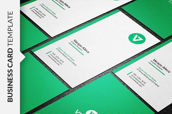 Clean vertical business card business card templates creative market colourmoves