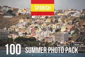 Spanish Summer Photo Set 100 Images