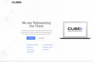 CubePlus HTML5 Responsive Template