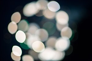 City Lights (Cool Bokeh)