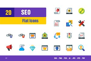 Seo Icons #7