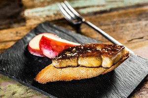 Foie gras snack