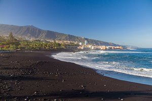 Playa Jardin beach, Tenerife