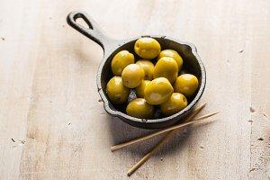 Olives snack
