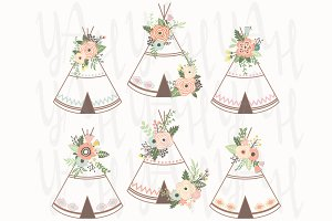 Flower Teepee Set