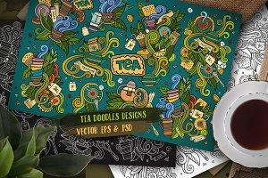 Tea Doodles Designs Set 2