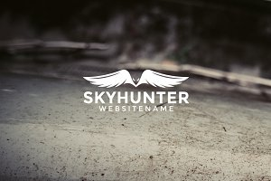 Skyhunter Logo Template