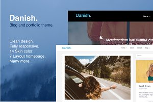Danish - Portfolio & Blog Template