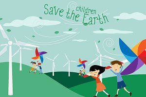 Save the Earth for children