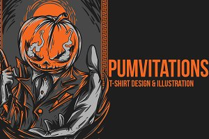 Pumvitations Illustration