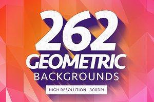 Geometric Polygon Backgrounds 262