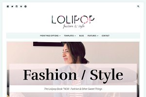Lolipop - Feminine WordPress Theme