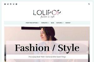 Lolipop - Feminine WordPress Theme