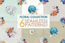 Watercolor rose patterns Vol 2