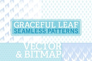 Vector/Bitmap Seamless Leaf Patterns