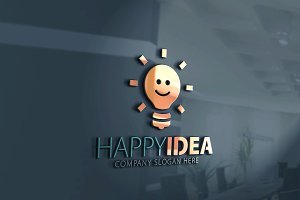 Happy idea Logo