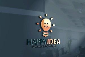 Happy idea Logo
